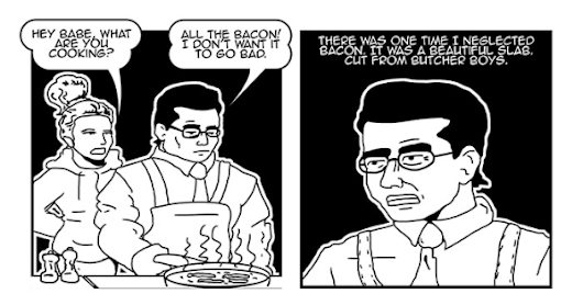 The Schlub :: Save the Bacon | Tapastic Comics