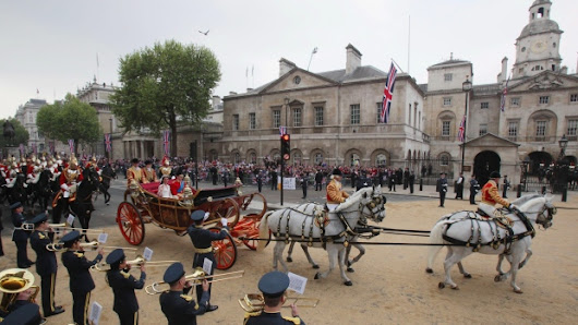 A chariot awaits: Harry and Meghan to employ carriage fleet at wedding