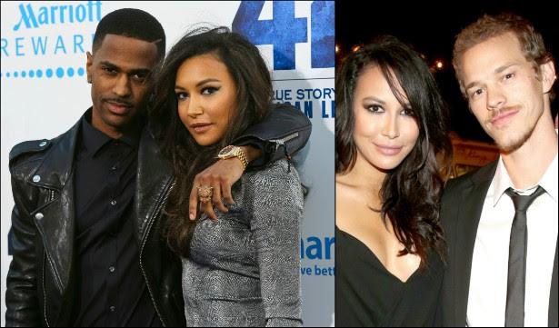 """A estrela de 'Glee' Naya Rivera chegou a declarar publicamente que o rapper Big Sean seria """"um marido incrível"""" e """"um ótimo pai"""" quando eles se casassem. Mas, após os tabloides noticiarem que ele a estava traindo, o músico acabou emitindo um comunicado no início de 2014 anunciando o fim do namoro. Pois Naya não perdeu tempo! No mesmo dia em que pretendia se casar com Big Sean, acabou foi se casando com o ator Ryan Dorsey. Isso que é uma pessoa obstinada. (Foto: Getty Images)"""