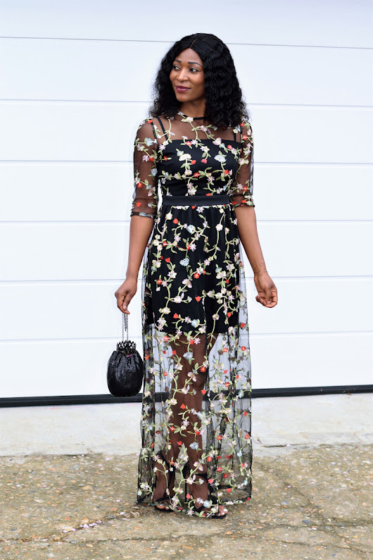 Perfect Botanical Dress - NaasCloset.Com