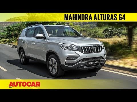 Mahindra Alturas G4 - the new Rexton