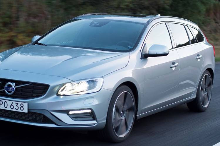 A Volvo luxury vehicle