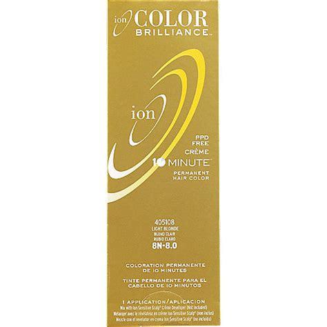 ion color brilliance  chance permanent creme  minute hair color