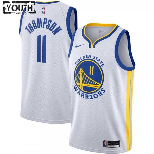 Golden State Warriors Trikot Klay Thompson 11 2020-2021 Nike Association Edition Swingman - Kinder