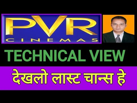 PVR में लास्ट चान्स , PVR share technical Levels & Target, PVR Share tec...