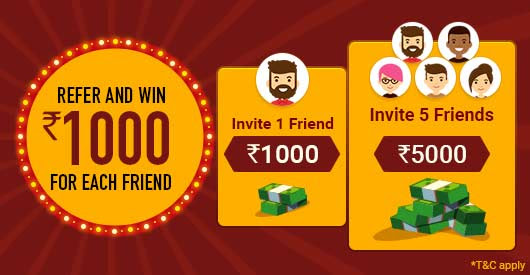 Social share : Refer 5 Friends and Win 5 Gold Coins!
