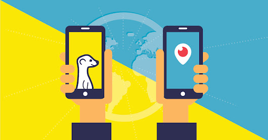 Meerkat & Periscope: Colonizing the Live Streaming Market - Salesforce Canada Blog