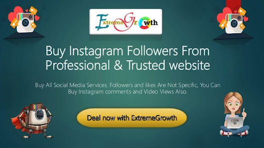 Buy instagram followers from professional & trusted website