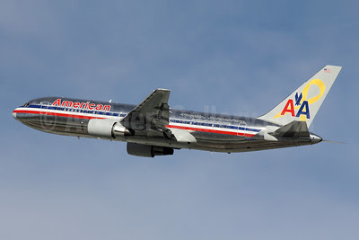 American Airlines Boeing 767-223 ER N320AA (msn 22321) (Flagship Independence) LAX (Michael B. Ing). Image: 908612.