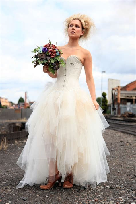 Wedding Dress: Elegant Punk Style Wedding Dresses