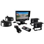 "7"" Commercial-Grade Weatherproof Backup Cameras & Monitor System"