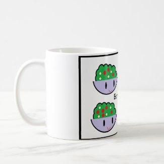 Eat salad mug