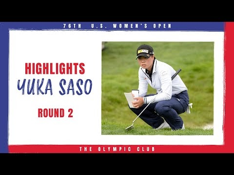 Yuka Saso Leaps Ahead of the Field With 67 - 2021 U.S. Women's Open, Round 2
