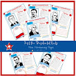 Just the Presidential Facts Notebooking Pages