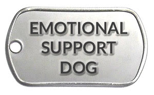how to legitimately register an emotional support dog