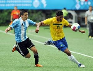 Adrian Martinez Rafael De Souza Brasil x Argentina Pan Guadalajara (Foto: AFP)
