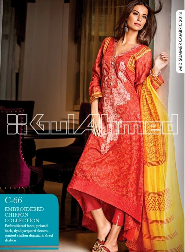 Mid-Summer-Cambric-Collection-2013-Gul-Ahmed-Printed-Embroidered-Fashionable-Dress-for-Girls-Women-7