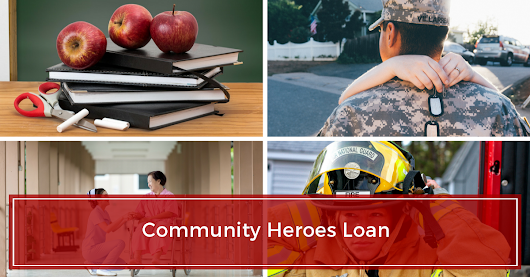 100% Financing for Community Heroes!