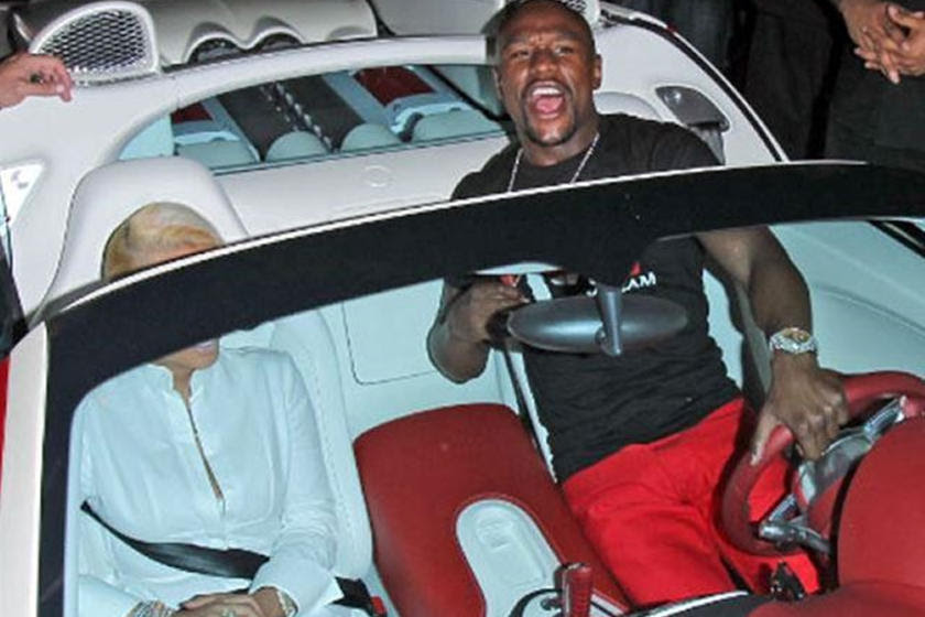 Floyd Mayweather Reportedly Bought A Bugatti Chiron Try To Act Shocked Carbuzz