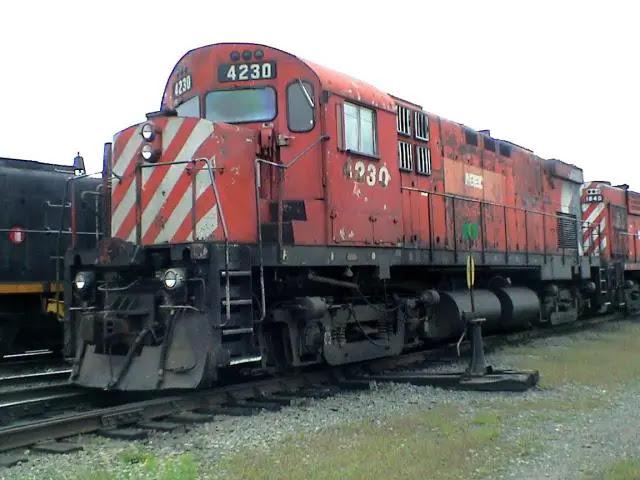 NBEC 4230 in Miramichi, 2002