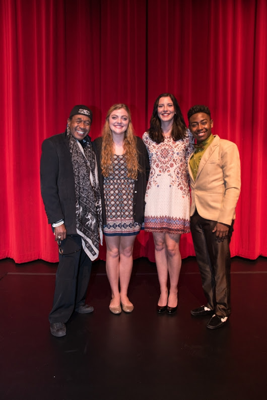 Theatre students experience musical theatre master class with legend Ben Vereen