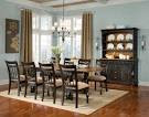 Warm Country Dining Room Furniture Sets Decorating Ideas Picture ...
