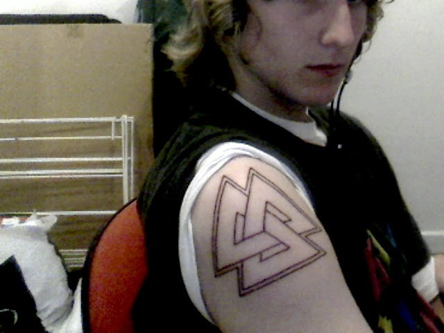 My Valknut Tattoo