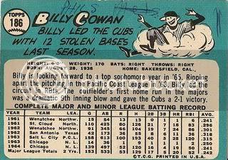 #186 Billy Cowan (back)