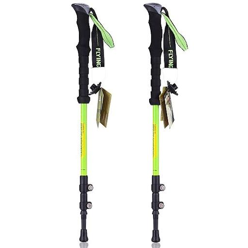 My new trekking poles, 80% carbon fiber, very lightweight