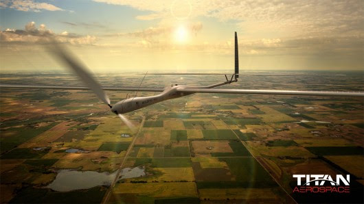 Designer Edge Image of the Day – Solar Powered UAV to Replace Satellites? > ENGINEERING.com