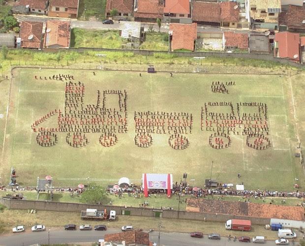 diamantina maria fumaça (Foto: Domingão do Faustão / TV Globo)
