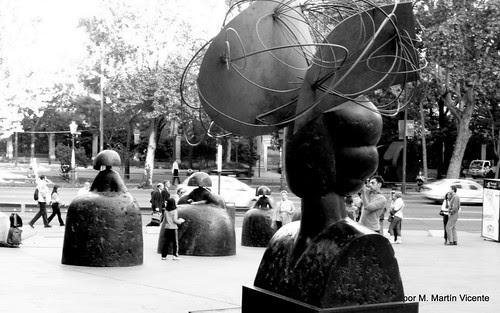 Las Meninas de Manolo Valdés en Madrid
