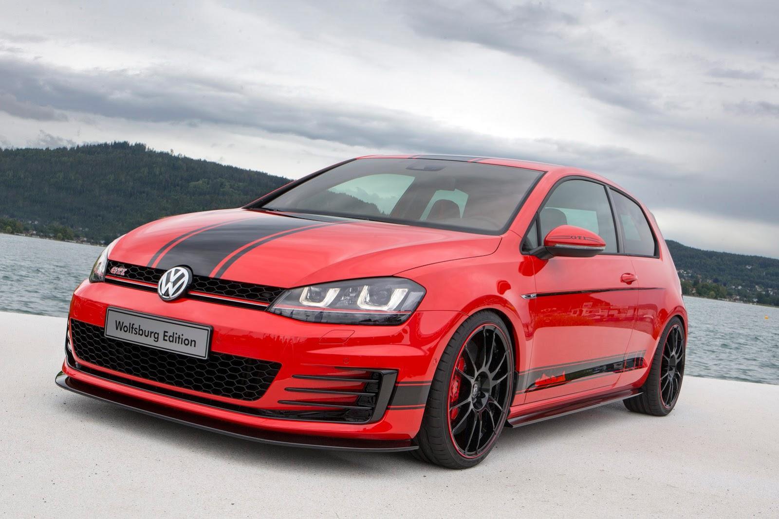 VW GTI Wolfsburg, Golf SportWagen Concepts Star At Wörthersee