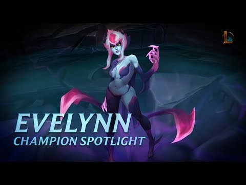 #Gaming #Gamer #Game Evelynn Champion Spotlight | Gameplay - League of Legends ─ League of Legends