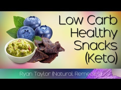 Low Carb Snacks (Keto Friendly)