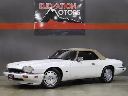 Used 1996 Jaguar XJS 4.0L convertible for Sale in Lakewood CO 80215 Elevation Motors