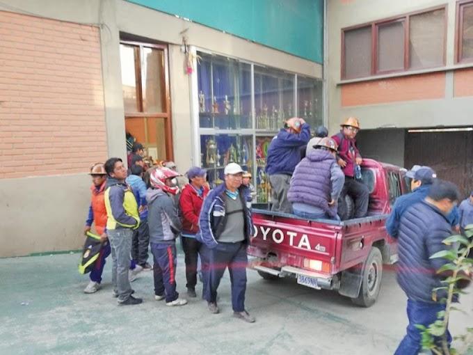 Cooperativistas marcharán hoy por la defensa de la democracia #Bolivia