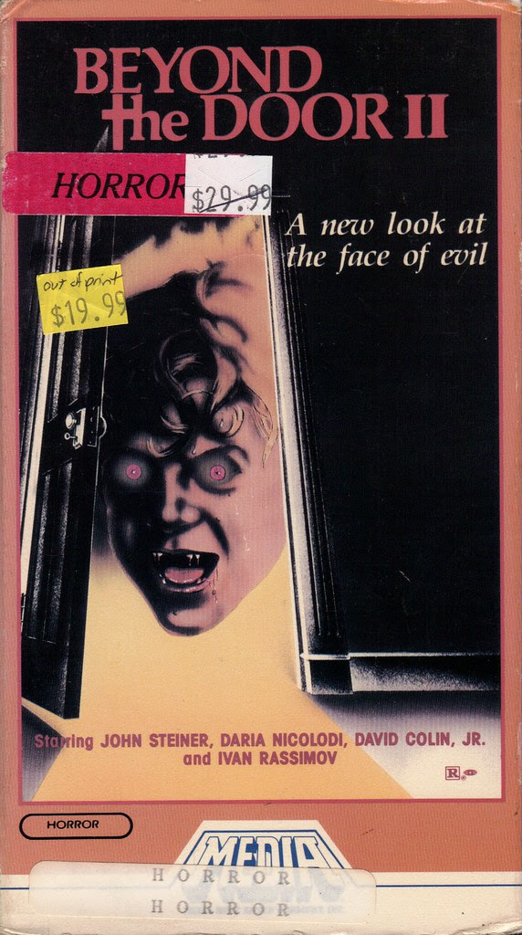 Beyond The Door 2 (VHS Box Art)