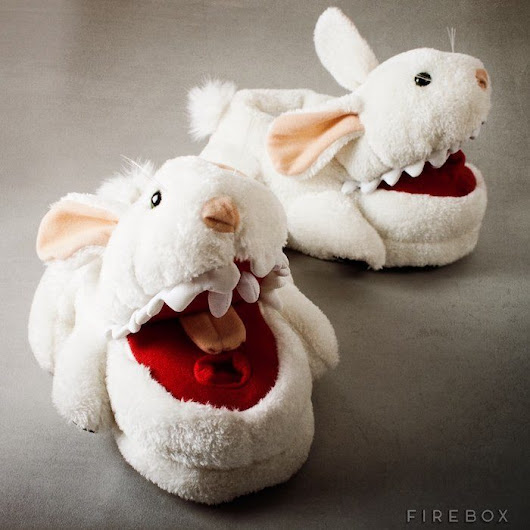 Limited Edition Monty Python Killer Bunny Slippers | The Gadget Flow