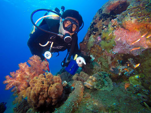 Up Close and Personnel with Murex Dive Guide Laurens, North Sulawesi