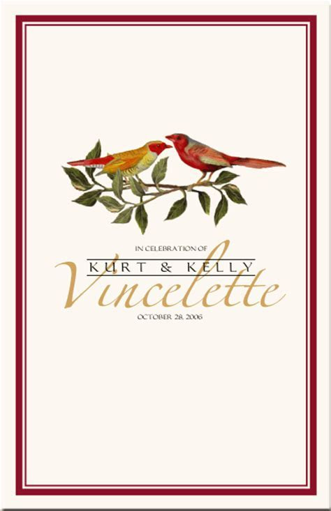 Bird Graphics for Wedding Stationery Designs