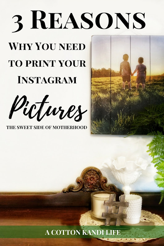 3 Reasons Why You Need to Print your Instagram Pictures | Photography.com - A Cotton Kandi Life