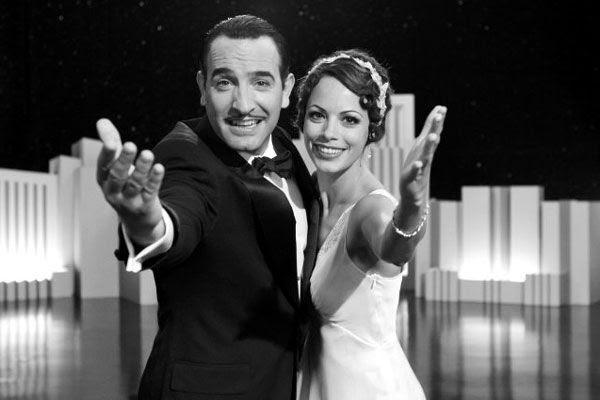 Jean Dujardin and Bérénice Bejo in THE ARTIST.