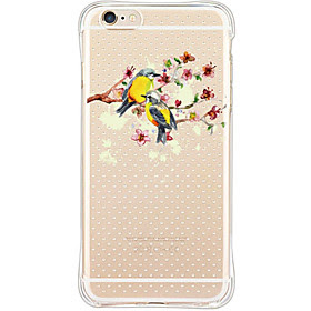 For Etui iPhone 6 / Etui iPhone 6 Plus Stotsikker / Stovtett Etui Bakdeksel Etui Dyr Myk TPU AppleiPhone 6s Plus/6 Plus / iPhone 6s/6 /