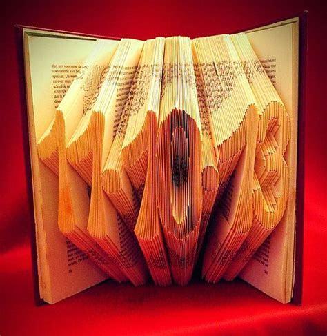 Folded Book Art   Save the Date   Original Wedding Gift