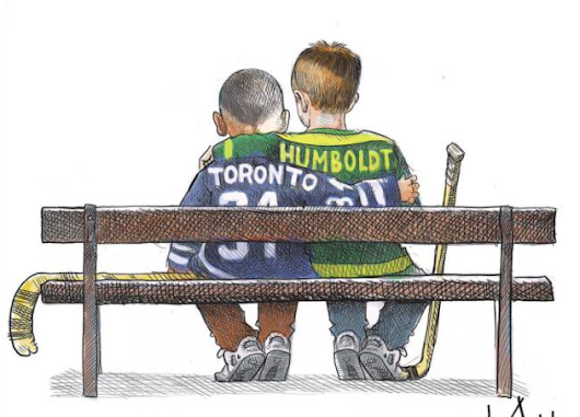 Halifax cartoonists capture public mood following Toronto, Humboldt tragedies - HalifaxToday.ca