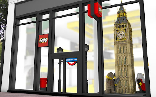 LEGO Flagship Store to Open in London - Display By Design