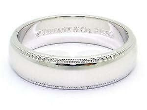 tiffany wedding band ebay