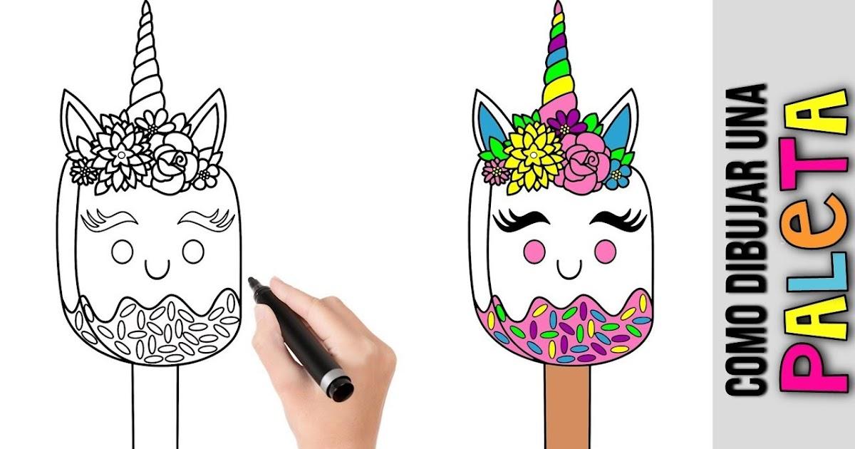 Imagenes Para Dibujar Kawaii Unicornios