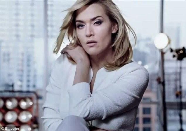 Sensual: Kate disse que esta jaqueta branca macia era sua peça favorita da linha